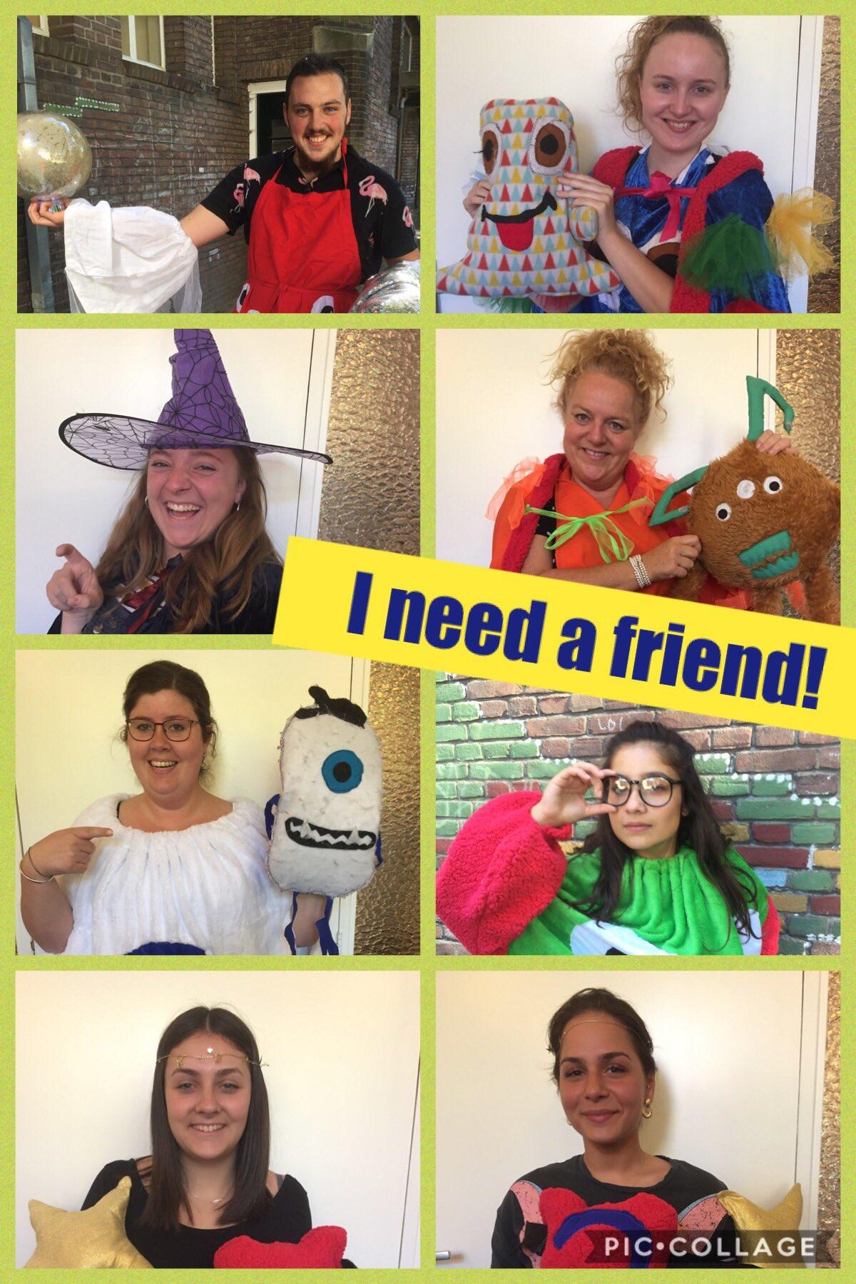 I need a friend!