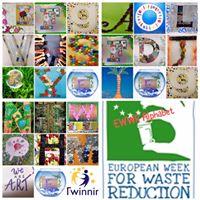 eTwinning sustainable art alphabet