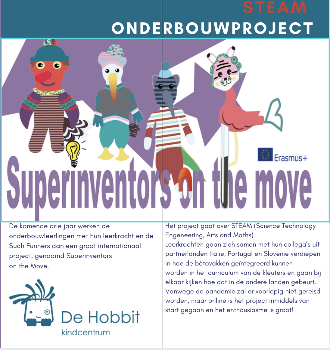 Superinventors on the move op De Hobbit