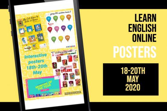 Online Engels leren: 18-20 mei