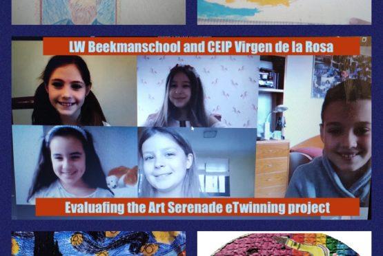 Art Serenade, an eTwinning project evaluation