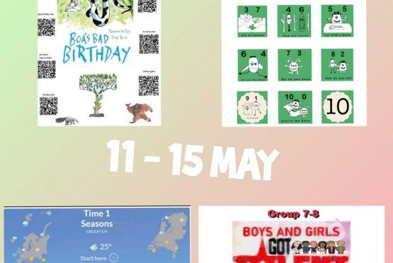 Online Engels leren: 11-15 mei
