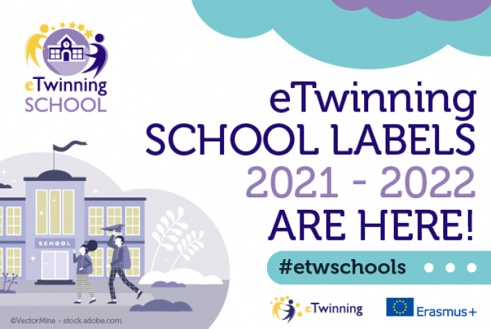 4 eTwinning school labels for primary schools in Den Bosch